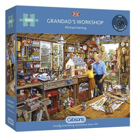 Grandads Workshop Jigsaw 1000pc Image 1