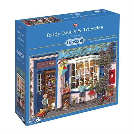 Teddy Bears & Tricycles Jigsaw 1000pc Image 1