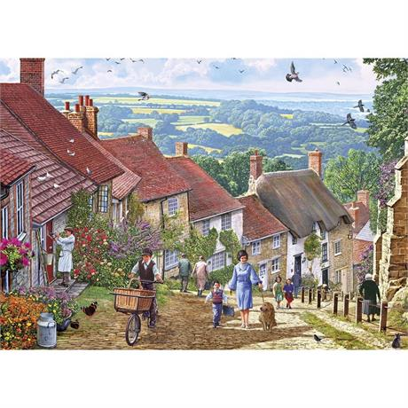 Gold Hill Jigsaw 1000pc Image 1