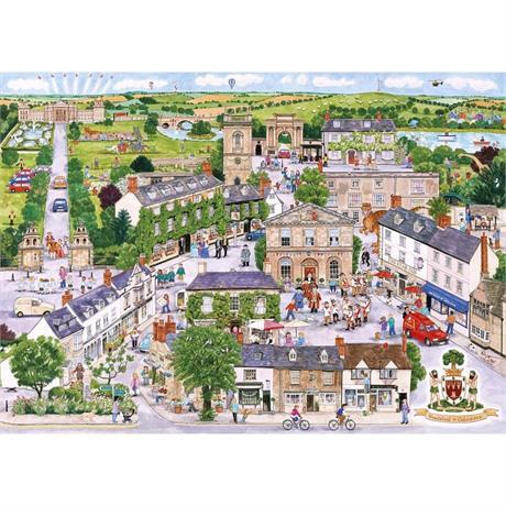 Wonderful Woodstock Jigsaw 1000pc Image 1