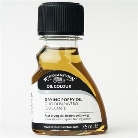 Winsor & Newton Drying Poppy Oil 75ml Image 1