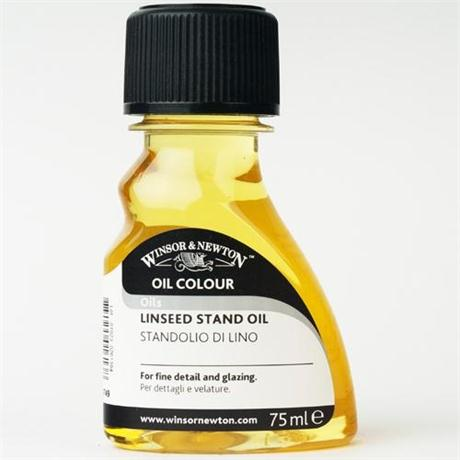 Winsor & Newton Linseed Stand Oil 75ml Image 1