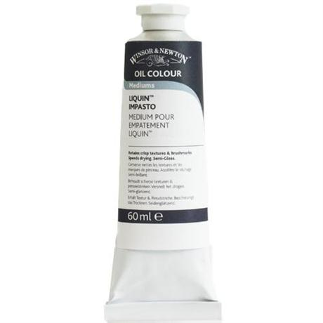 Winsor & Newton Liquin Impasto Medium 200ml Tube Image 1