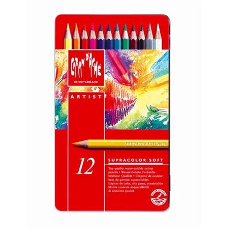 Supracolor Soft Tin of 12 Pencils Image 1