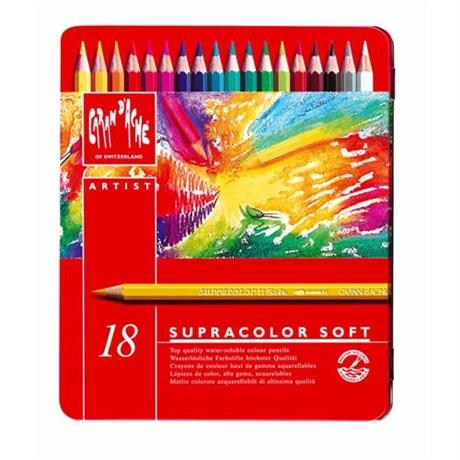 Supracolor Soft Tin of 18 Pencils Image 1