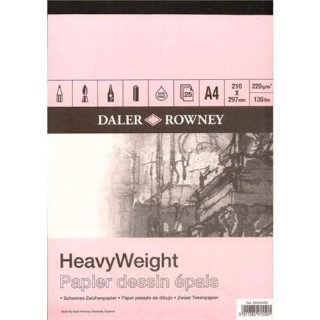 Daler Rowney Smooth Heavyweight Cartridge Pad 220gsm Image 1