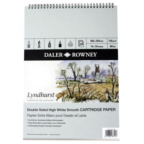 Daler Rowney Lyndhurst Sketch Book Image 1