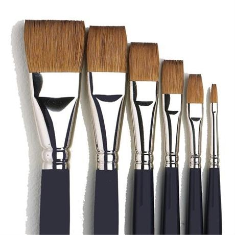 Winsor & Newton Artists' Water Colour Sable Brush - One Stroke Image 1