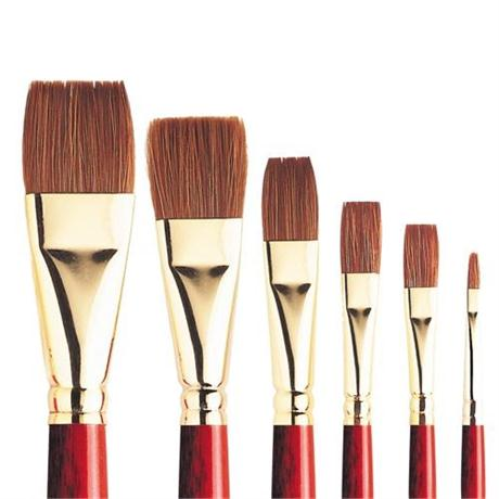 Sceptre Gold II Series 606 Brushes - One Stroke Image 1