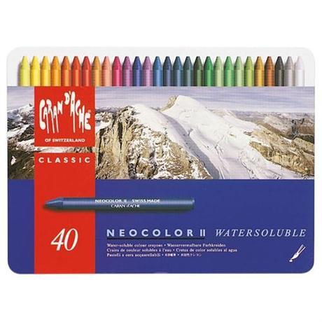 Neocolor II Tin of 40 Image 1