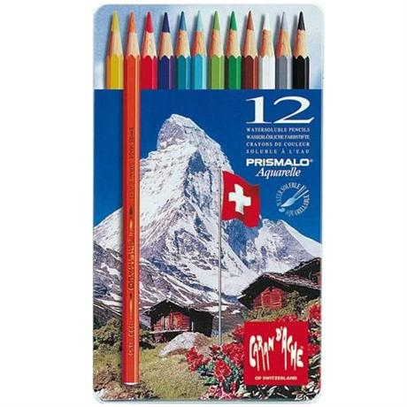 Prismalo Tin of 12 Pencils Image 1