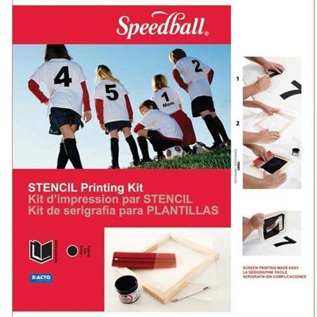 Speedball Stencil Screen Printing Kit Image 1