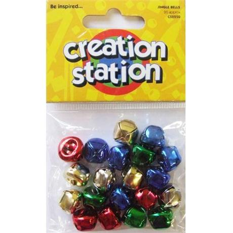 Creation Station Coloured Jingle Bells Image 1