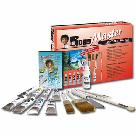 Bob Ross Master Paint Set Image 1