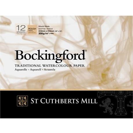 Bockingford Glued Watercolour Pads 140lbs / 300gsm 'Rough' Image 1