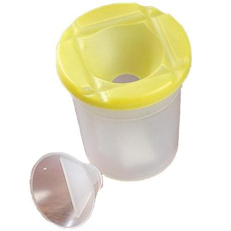 Non Spill Paint Pot with Lid & Stopper Image 1