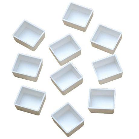 Empty Plastic Half Pans Pack of 10 Image 1