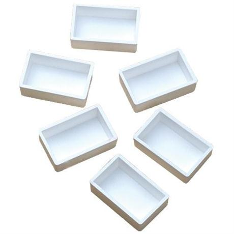 Empty Plastic Whole Pans Pack of 6 Image 1