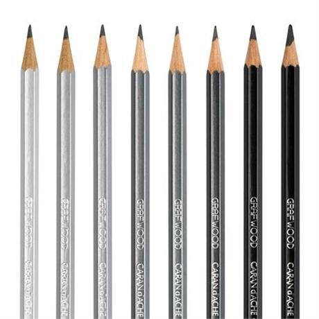 Caran d'Ache Grafwood Graphite Pencils Image 1