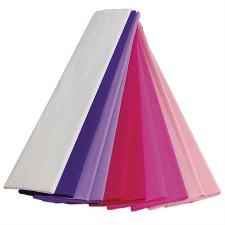 Coloured Crepe Paper 250cm x 50cm 40gsm Image 1