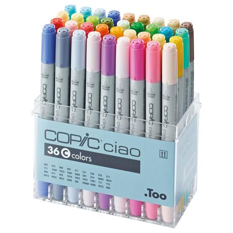 Copic Ciao Marker Set of 36 - Set C Image 1