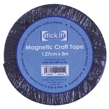 Magnet Craft Tape 1.27cm x 3metres Image 1