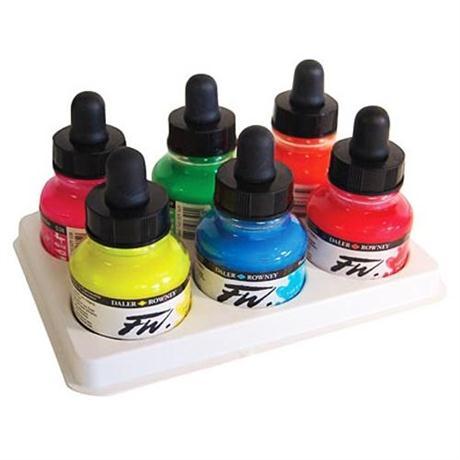 Daler Rowney FW Ink Neon Set Image 1