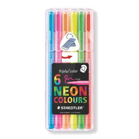 Staedtler Triplus Colour Neon Set of 6