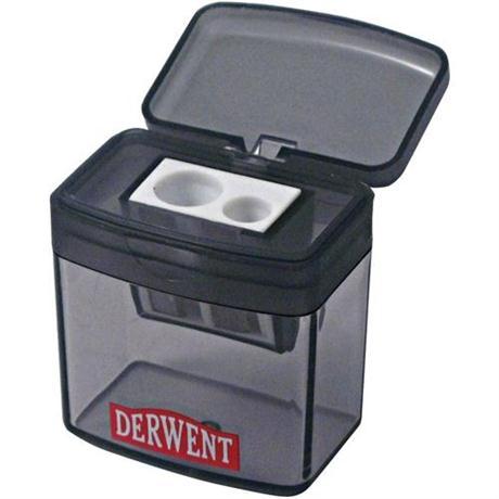 Derwent Two Hole Pencil Sharpener Image 1