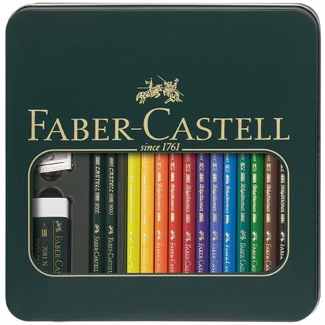 Faber Castell Polychromos Mixed Media Set Image 1