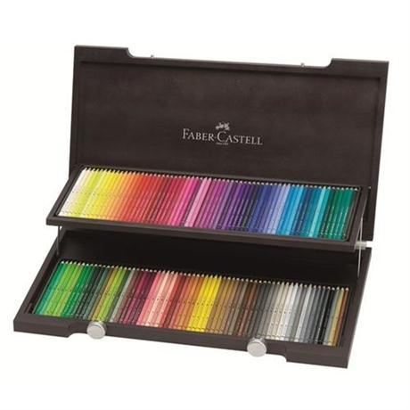 Albrecht Durer Artists' Water Colour Pencils Wooden Box of 120 Image 1