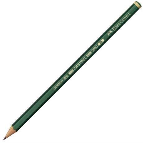 Faber Castell 9000 Black Lead Pencils - Individual Grades Image 1