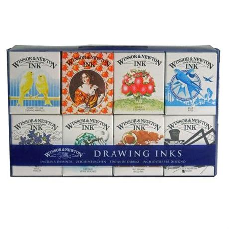 Winsor & Newton Henry Collection Drawing Ink Set Image 1