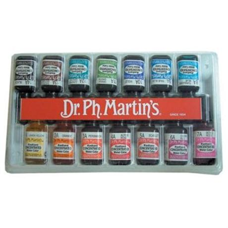 Dr. Ph. Martin's Radiant Ink Set B 15ml Image 1