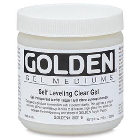 Golden Self Levelling Clear Gel - 236ml Pot Image 1