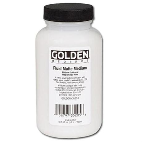 Golden Fluid Matt Medium - 236ml Image 1