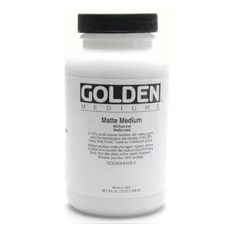 Golden Matt Medium - 236ml Image 1