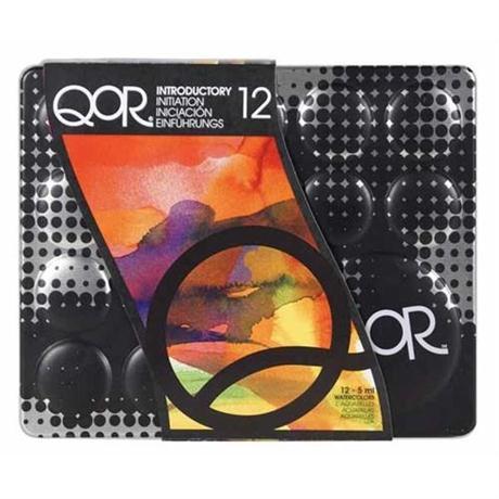 QoR Watercolour 12 x 5ml Intro Set Image 1