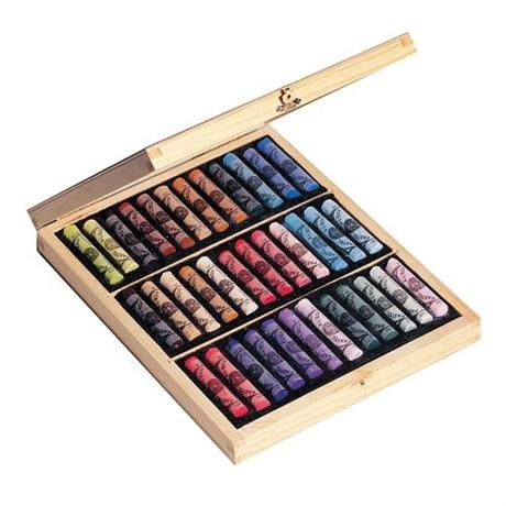Sennelier Soft Pastel Wooden Box 36 Assorted Image 1