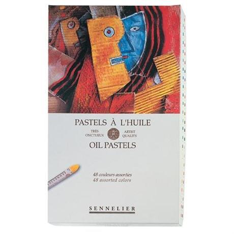 Sennelier Oil Pastels 48 Assorted Colours Image 1