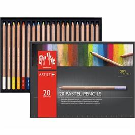 Caran d Ache Pastel Pencils 20 Assorted Set thumbnail