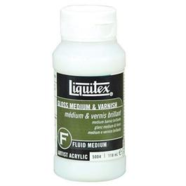 Liquitex Gloss Medium & Varnish 118ml Bottle thumbnail
