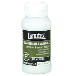 Liquitex Gloss Medium & Varnish 946ml Bottle thumbnail