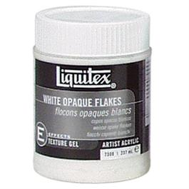 Liquitex White Opaque Flakes Medium 237ml Jar thumbnail