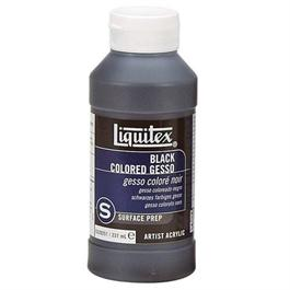 Liquitex Black Coloured Gesso 237ml Bottle thumbnail