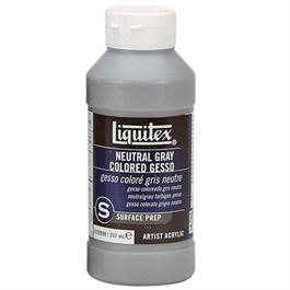Liquitex Neutral Grey Coloured Gesso 237ml Bottle thumbnail