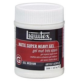 Liquitex Matt Super Heavy Gel Medium 237ml Jar thumbnail