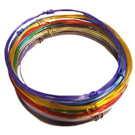 Enamelled Wire 10 x 1m  Assorted Colours thumbnail