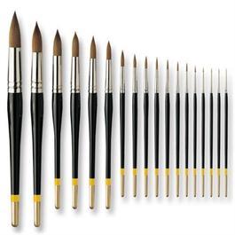 Pullingers Artists Value Brushes - Profile Round Thumbnail Image 0