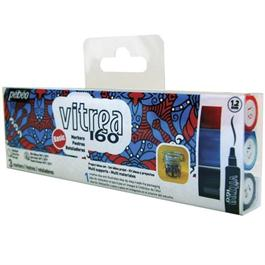 Pebeo Vitrea 160 Marker Pen Set Of 3 Basic Colours thumbnail